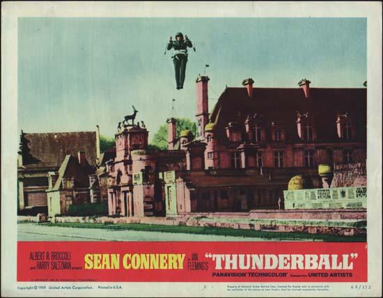 Thunderball US Lobby Card number 8