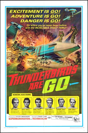 Thunderbirds Are Go US One Sheet movie poster