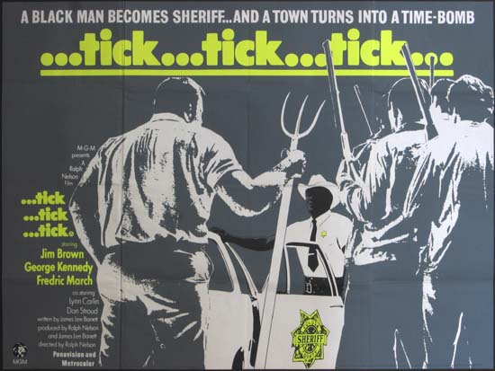 Tick Tick Tick UK Quad movie poster