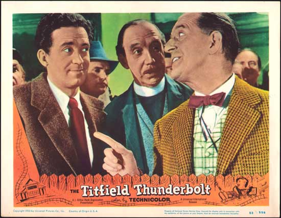 Titfield Thunderbolt, The US Lobby Card number 2