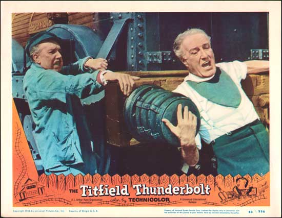 Titfield Thunderbolt, The US Lobby Card number 3