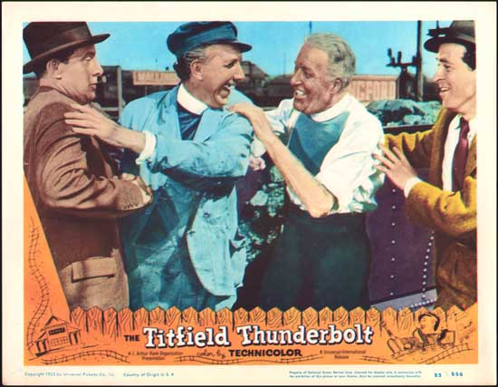 Titfield Thunderbolt, The US Lobby Card number 4