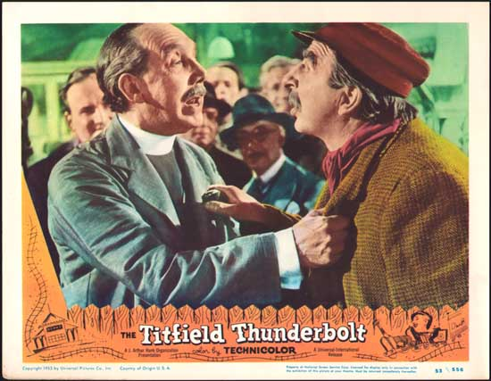 Titfield Thunderbolt, The US Lobby Card number 7