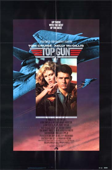 Top Gun US One Sheet movie poster