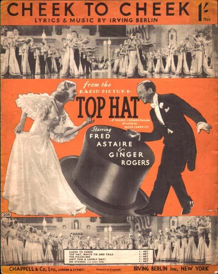 Top Hat UK Sheet Music