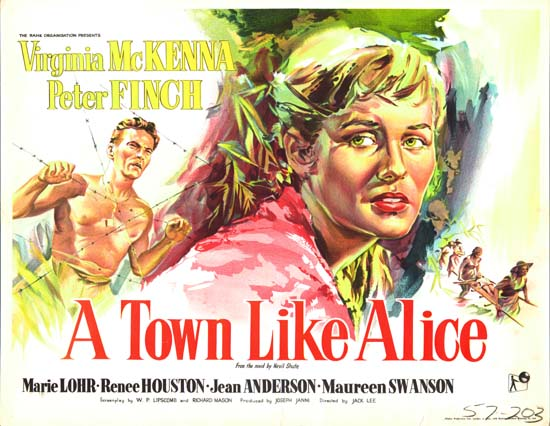 Town Like Alice, A UK Half Sheet movie poster