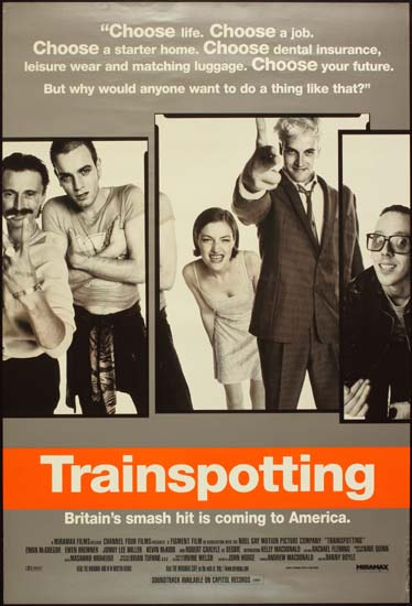 Trainspotting US One Sheet movie poster