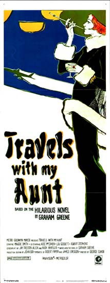 Travels with My Aunt US Insert movie poster