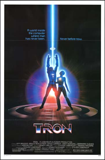 TRON US One Sheet movie poster