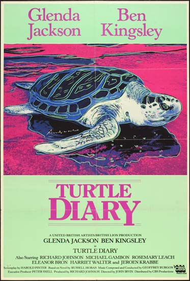Turtle Diary UK One Sheet movie poster