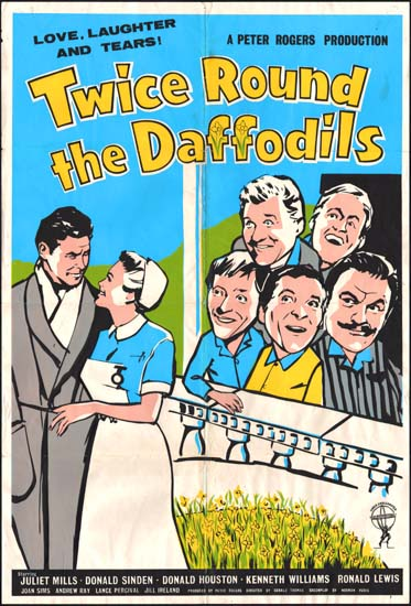 Twice Round the Daffodils UK One Sheet movie poster