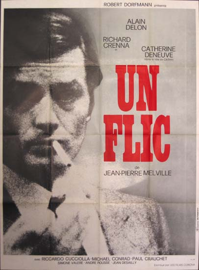 Flic, Un [ Dirty Money ] French Grande movie poster