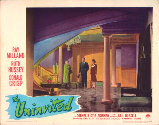 Uninvited, The US Lobby Card number 2