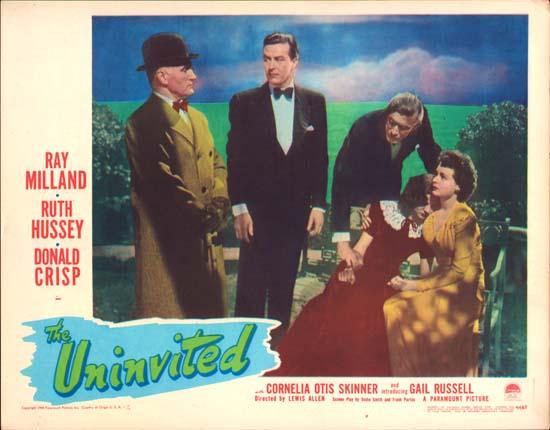 The Uninvited original US Lobby Card number 7 | Movie ...