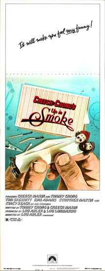 Up In Smoke US Insert movie poster