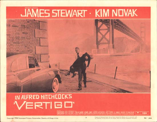 Vertigo US Lobby Card number 7