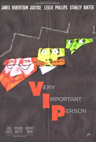 Very Important Person GB One Sheet movie poster