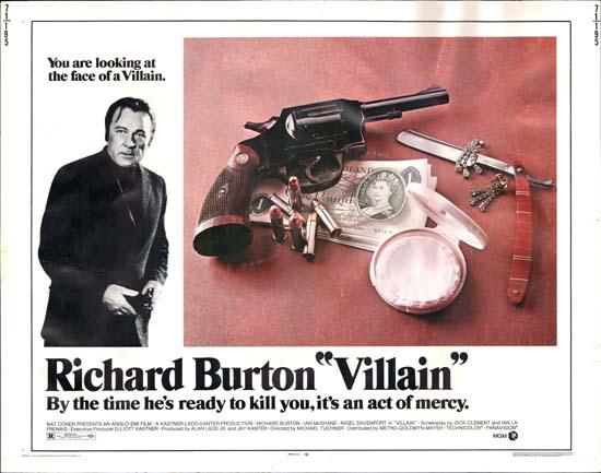 Villain US Half Sheet movie poster