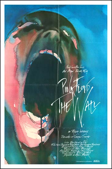 Wall, The [ Pink Floyd The Wall ] US One Sheet international movie poster