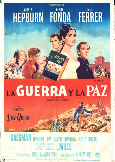 War and Peace Argentinian One Sheet movie poster