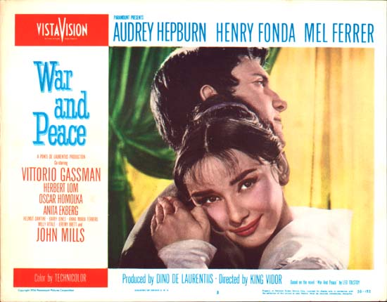 War and Peace US Lobby Card number 3