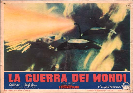 War of the Worlds Italian Photobusta movie poster