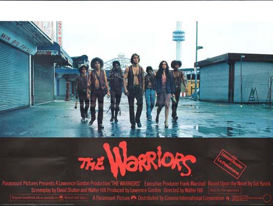 Warriors, The GB Quad movie poster