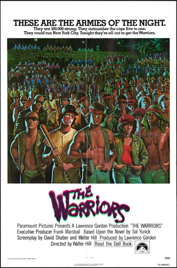 Warriors, The US One Sheet international movie poster