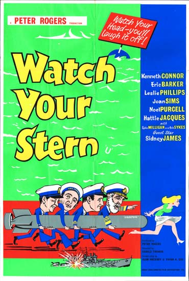 Watch Your Stern UK One Sheet movie poster