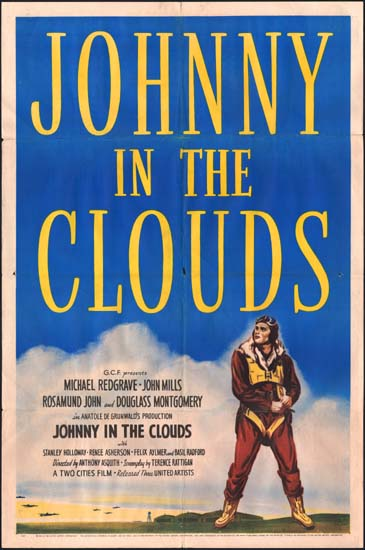 Way to the Stars, The [ Johnny in the Clouds ] US One Sheet movie poster