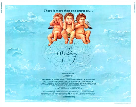 Wedding, A US Half Sheet movie poster