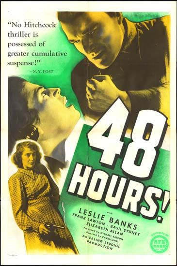 Went The Day Well? [ 48 Hours! ] US One Sheet movie poster