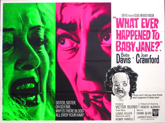What Ever Happened to Baby Jane UK Quad movie poster