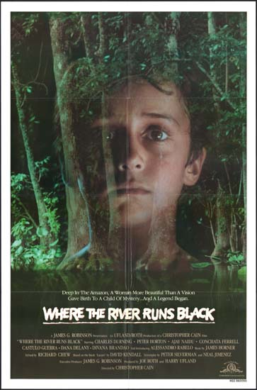 Where the River Runs Black US One Sheet international movie poster