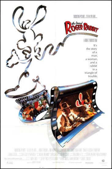 Who Framed Roger Rabbit US One Sheet movie poster