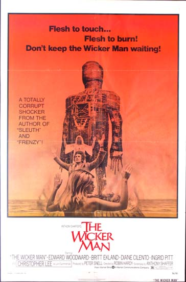 Wicker Man, The US One Sheet movie poster