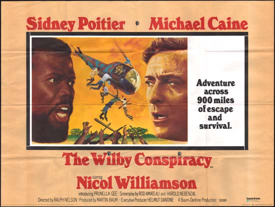 Wilby Conspiracy, The UK Quad movie poster