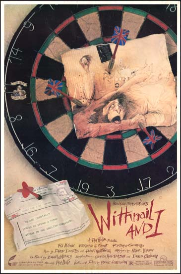 Withnail and I US One Sheet movie poster