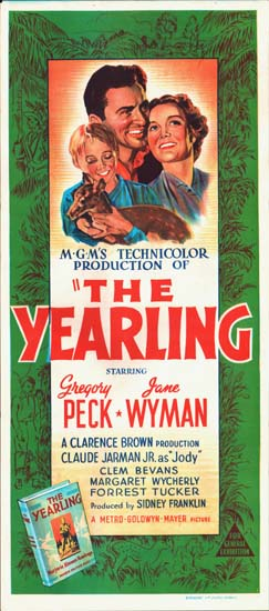 Yearling, The Australian Daybill movie poster