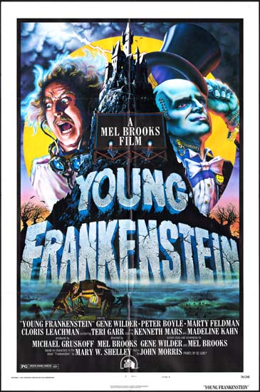 Young Frankenstein US One Sheet movie poster