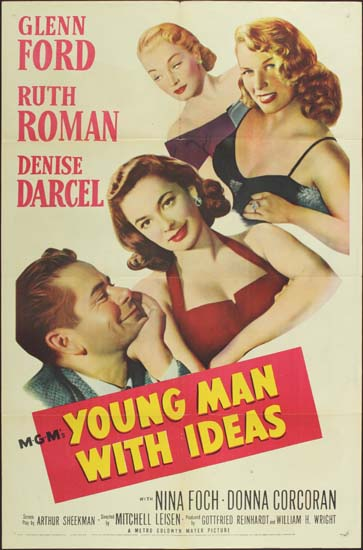 Young Man With Ideas US One Sheet movie poster