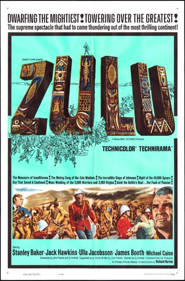 Zulu US One Sheet movie poster